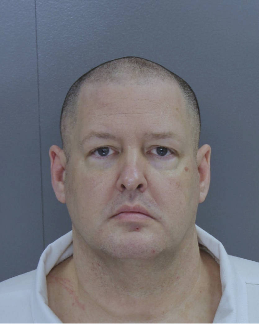 This photo provided by South Carolina state shows Todd Kohlhepp.  New investigative videos released by prosecutors show the dramatic rescue of a woman who had been chained inside a metal storage c ...