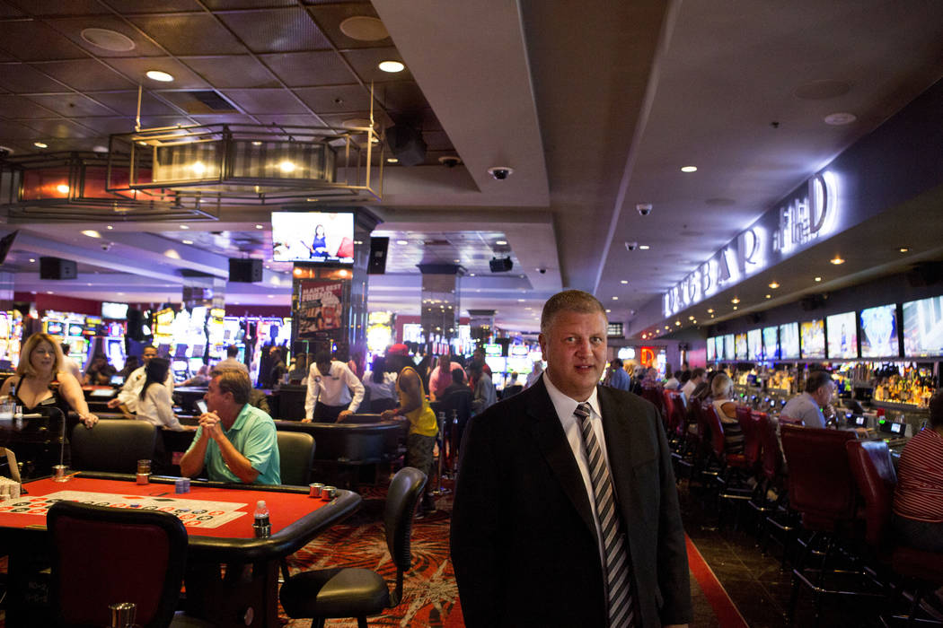Derek Stevens, co-owner of the D Las Vegas, at the D Las Vegas in downtown Las Vegas, Monday, June 12, 2017. Elizabeth Brumley/ The Las Vegas Review-Journal