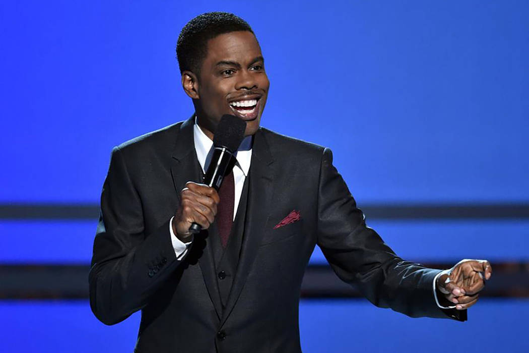 "Chris Rock performed two shows at The Park Theater on Saturday, June 10, 2017 in his ""Total Blackout"" tour. (Chris Rock/Facebook)"