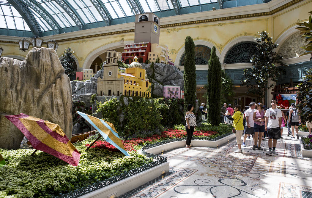 Beau Guests Visit The New Italian Inspired Display At Bellagiou0027s Conservatory U0026 Botanical  Gardens On Monday