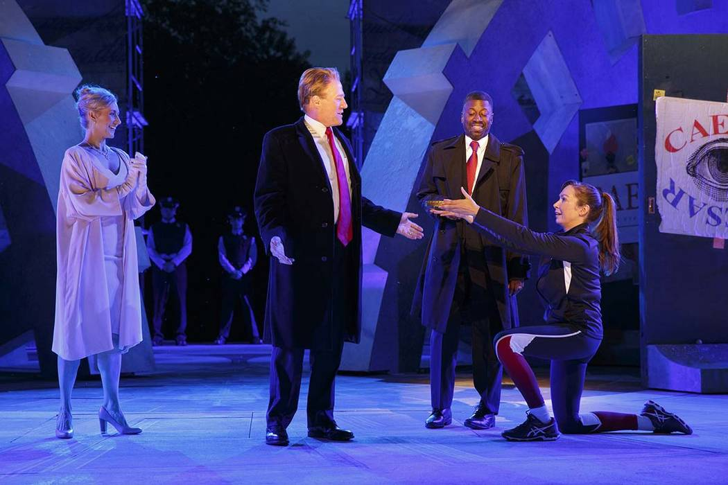 Delta Air Lines and Bank of America have withdrawn their sponsorship of New York's Public Theater for portraying Julius Caesar as the Donald Trump look-alike who gets knifed to death on stage. (Jo ...