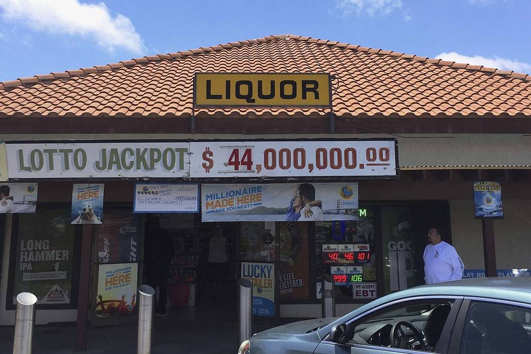 The sole winning Powerball ticket worth $447.8 million was sold at this Southern California liquor store. The winner will claim the 10th largest lottery prize in U.S. history, lottery officials sa ...