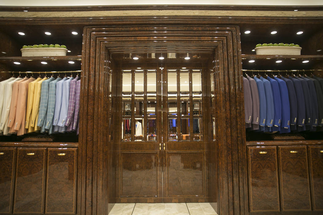 The Stefano Ricci VIP Roomu0027s Private Doors At The Shops At Crystals On  Monday, June
