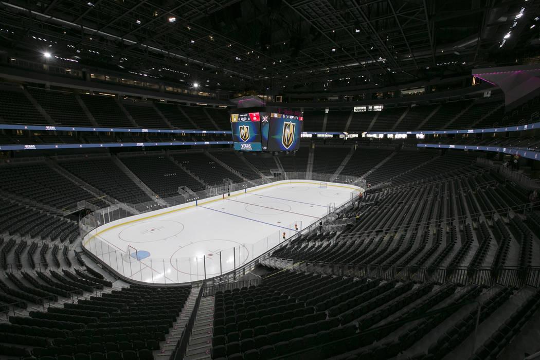 The T-Mobile Arena in Las Vegas, Tuesday, June 13, 2017. Gabriella Angotti-Jones Gabriella Angotti-Jones Las Vegas Review-Journal @gabriellaangojo
