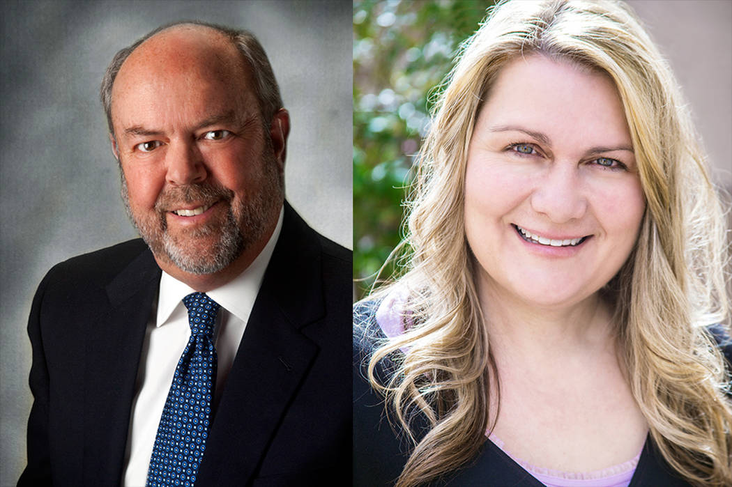 Henderson Ward III City Council Candidates John Marz and Carrie Cox. (Courtesy)