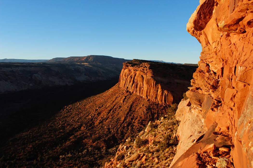 The view from Comb Ridge is pictured in Utah's Bears Ears area of the Four Corners Region, Utah, U.S. December 18, 2016. (Annie Knox/Reuters)
