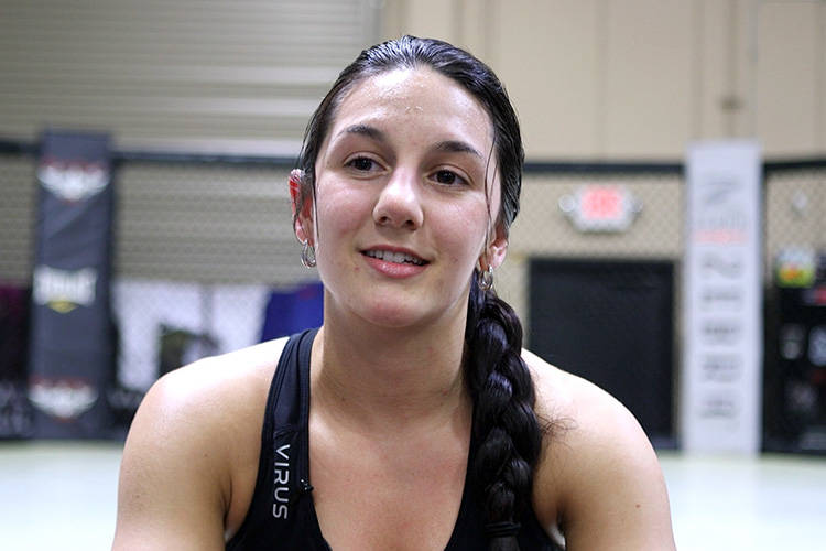 Cheyanne Vlismas is heading into what may be her last amateur fight at Tuff-N-Uff's Pack the Mack event. Vlismas talks about training with Miesha Tate and why no one will claim her Tuff-N-Uff titl ...