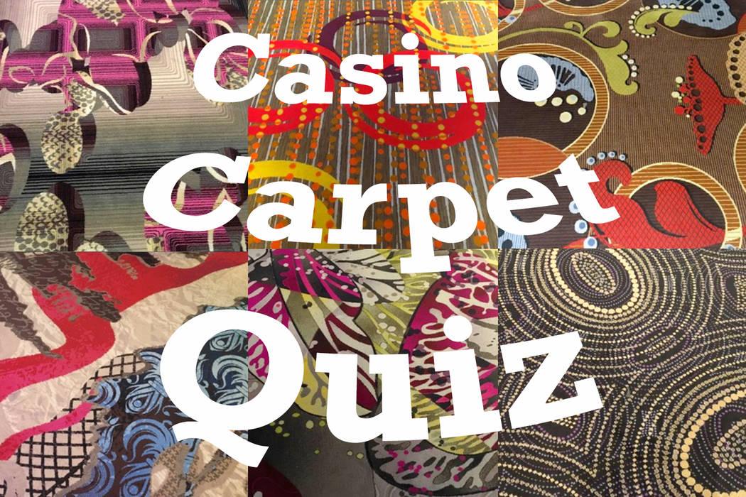 Can you name that Las Vegas carpet? (Michael Quine/Las Vegas Review-Journal)