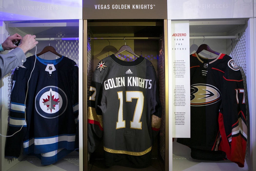 the best attitude 761f6 e3cd4 Uniform behavior passes the test during Vegas Golden Knights ...