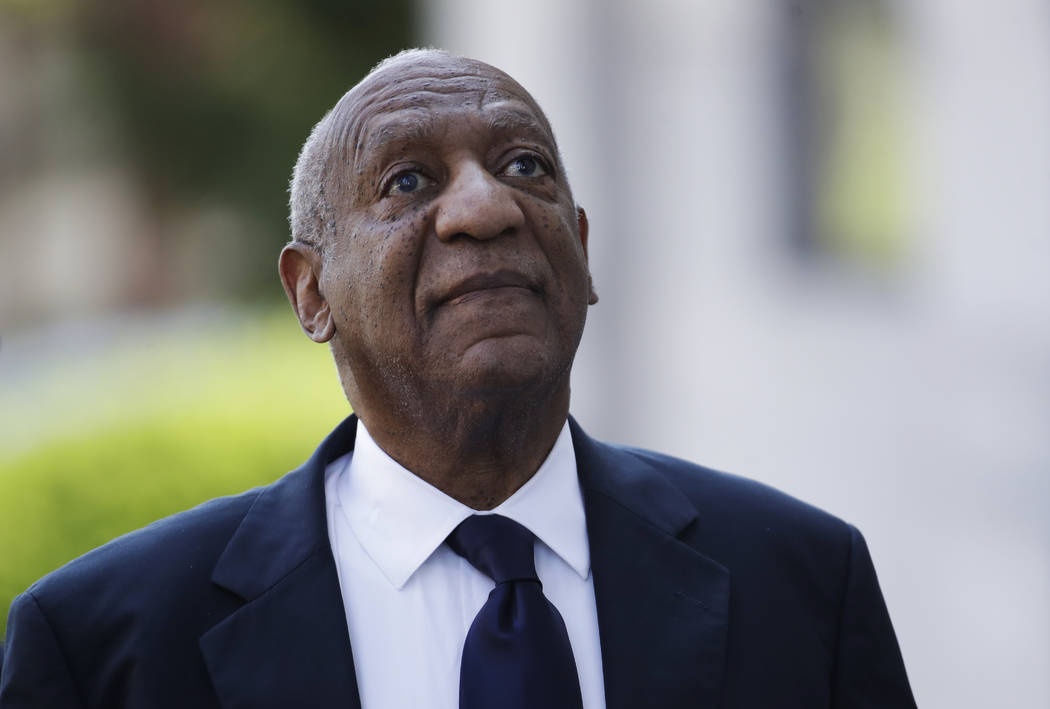 Bill Cosby arrives for his sexual assault trial at the Montgomery County Courthouse in Norristown, Pa., Tuesday, June 13, 2017. (Patrick Semansky/AP)