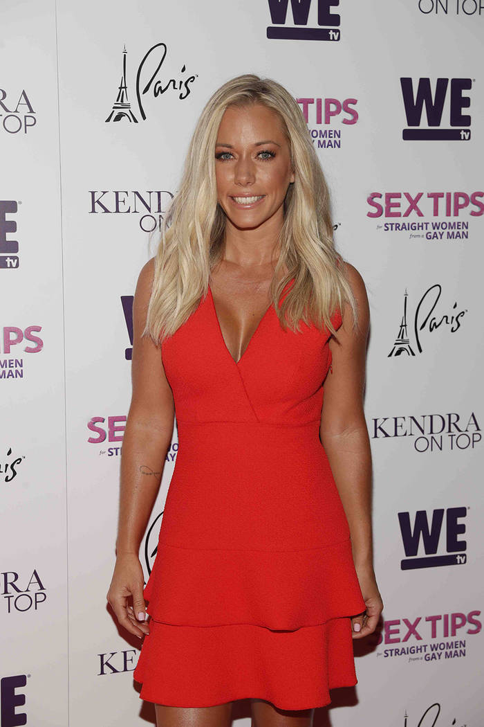 "Kendra Wilkinson arrives at the premiere celebration for We Tv's ""Kendra on Top"" and ""Sex Tips for Straight Women from a Gay Man"" June 8. (Isaac Brekken/Getty Images for We Tv)"