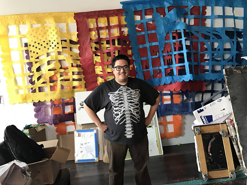 Justin Favela is the featured Artist in Residence living at Juhl, a loft-style community that spans an entire city block in downtown Las Vegas. Through the program, which offers one artist to live ...