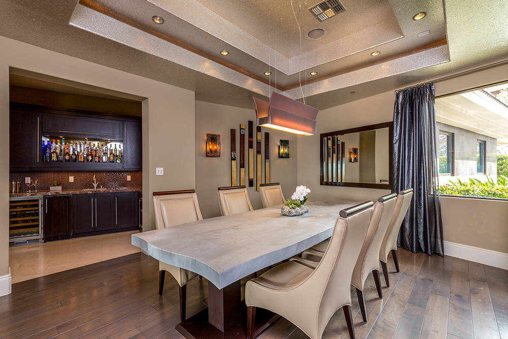 The formal dining room. (Luxury Estates International)