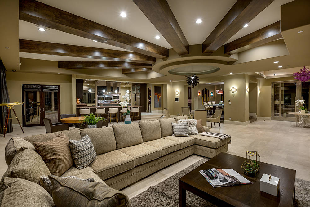 The living room. (Luxury Estates International)