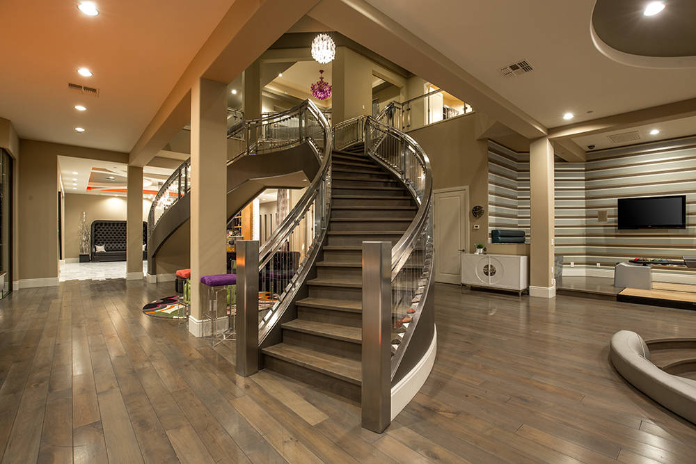 The custom staircase cost $300,000.