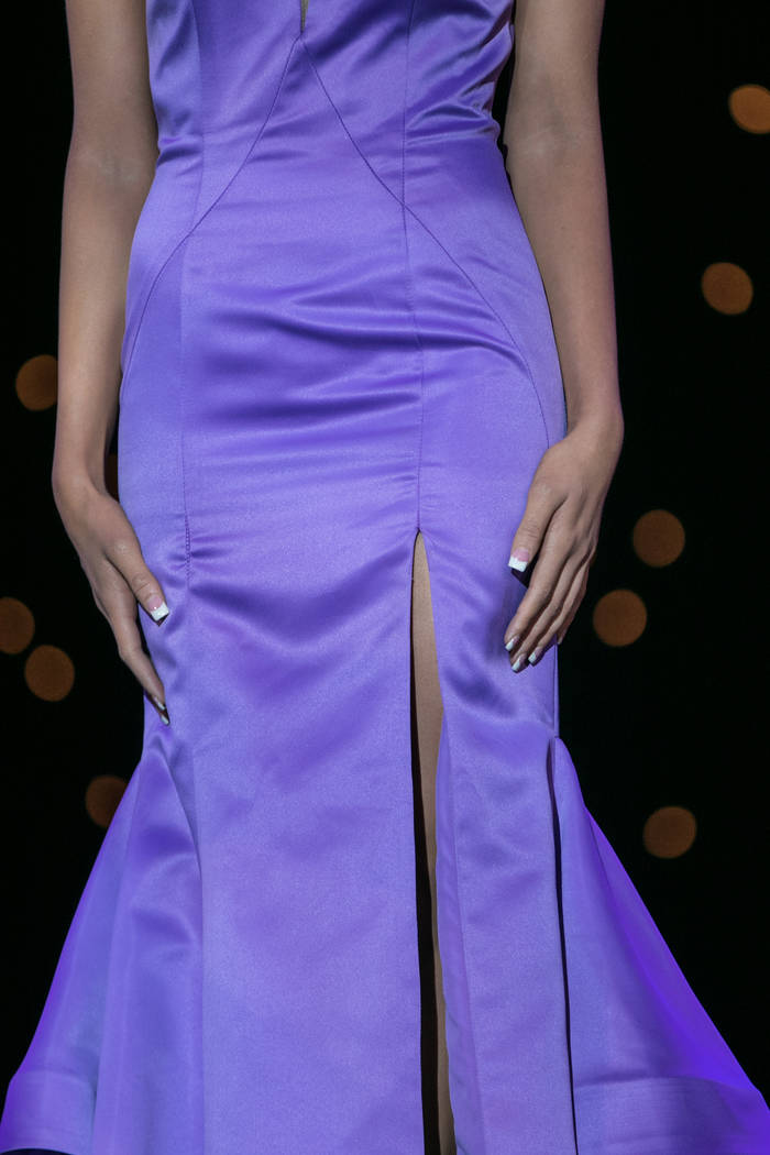 The evening wear portion of the show at the 2017 Miss Nevada pageant on Friday, June 16, 2017, at Tropicana hotel-casino in Las Vegas. Morgan Lieberman Las Vegas Review-Journal