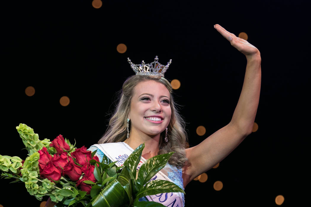 Miss Nevada Oustanding Teen 2017 Carli Gumm at the 2017 Miss America pageant at Tropicana hotel-casino on Friday, June 16, 2017, in Las Vegas. Morgan Lieberman Las Vegas Review-Journal