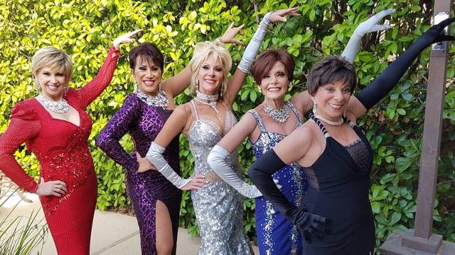 Cast members of Rhythm, a show set to be at Starbright Theatre, features those who performed in some of Las Vegas's most iconic shows. Rhythm Left to right Maureen Wray, Shirl the Whirl Cina, Suza ...