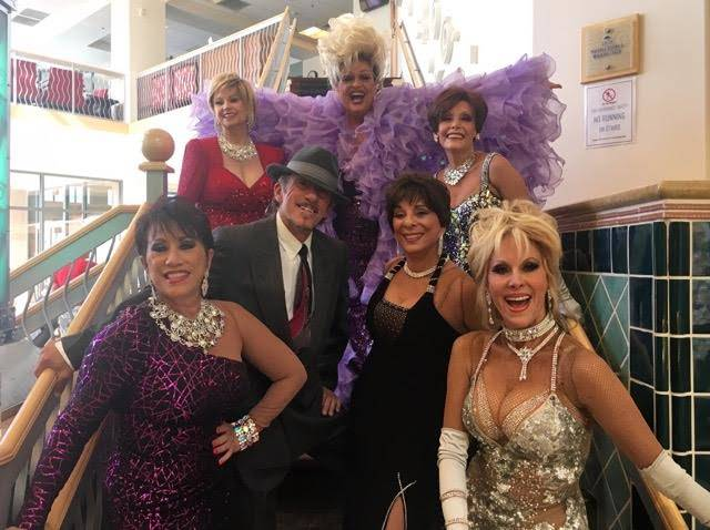 Cast members of Rhythm, a show set to be at Starbright Theatre, features those who performed in some of Las Vegas's most iconic shows.  (Top to bottom and left to right) are Jimmy Emerson in orchi ...