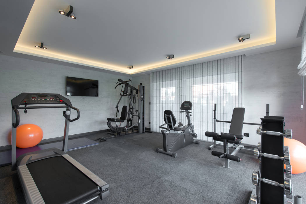 Thinkstock While most homes don't have such a large room to dedicate to a workout area, most homeowners can carve out some space.