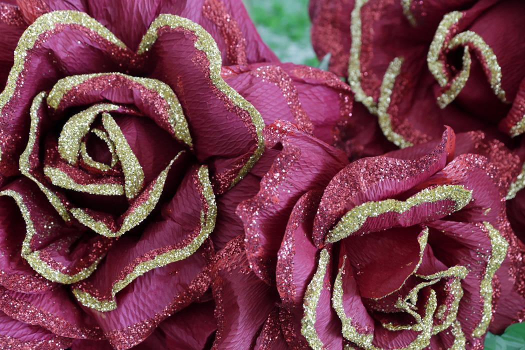 Roses are seen on a float at Trails Park in Summerlin, Friday, June 30, 2017. Gabriella Angotti-Jones Las Vegas Review-Journal @gabriellaangojo