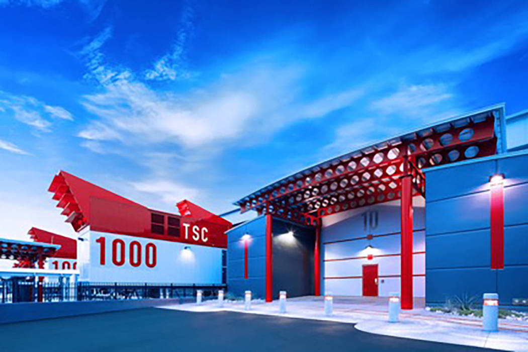 Switch's data center complex is now more than 2 million square feet. (Switch)