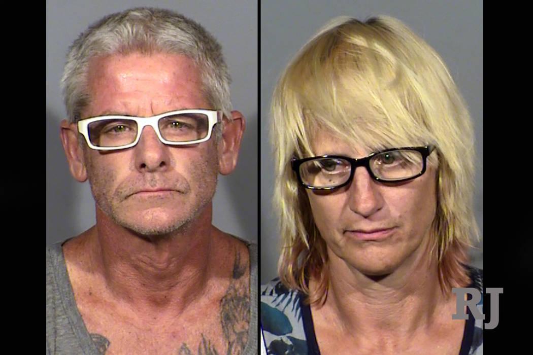 Blane Ward and Charlene King (Las Vegas Metropolitan Police Department)