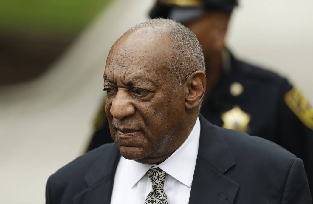 Bill Cosby arrives for jury deliberations in his sexual assault trial at the Montgomery County Courthouse in Norristown, Pa., Thursday, June 15, 2017. (Matt Slocum/AP)