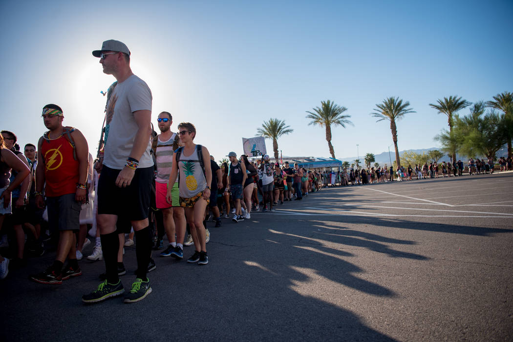 Electric Daisy Carnival brings around 100,000 attendees each night to Las Vegas Motor Speedway. The three day festival had its opening day on Friday, June 16, 2017, in Las Vegas. Morgan Lieberman  ...