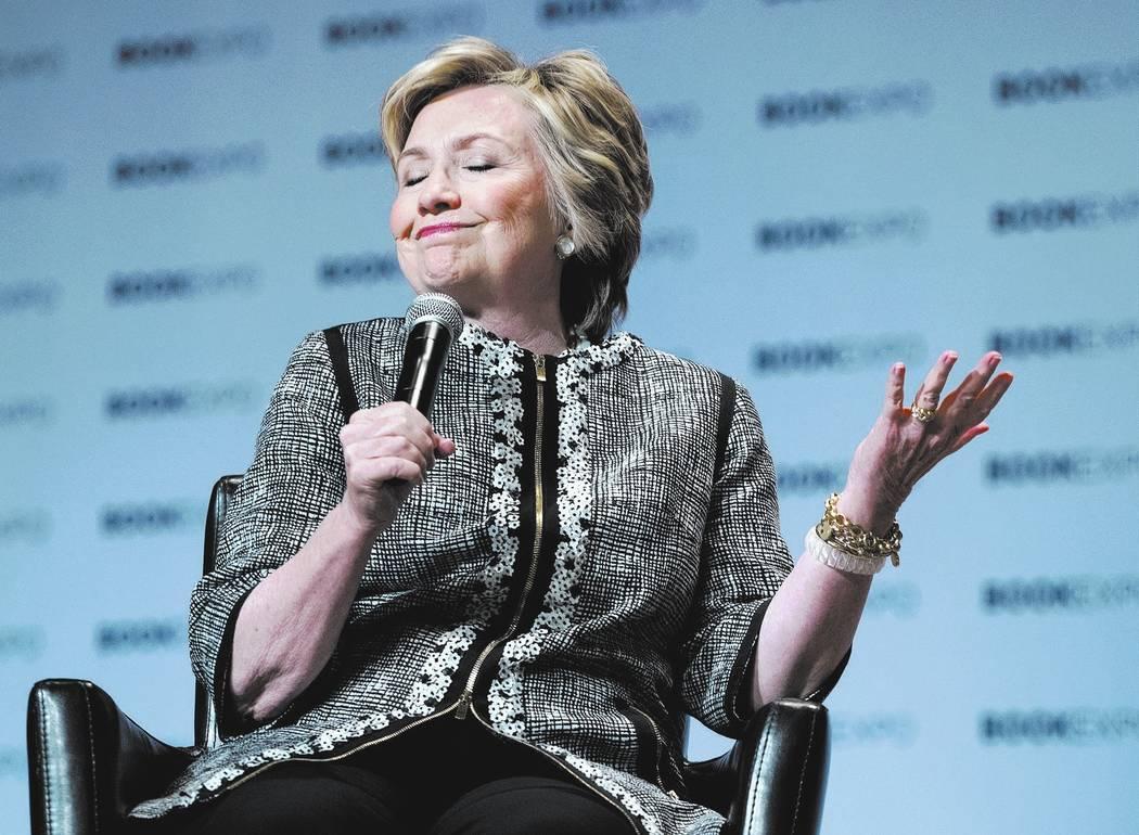 Hillary Clinton. AP Photo/Craig Ruttle