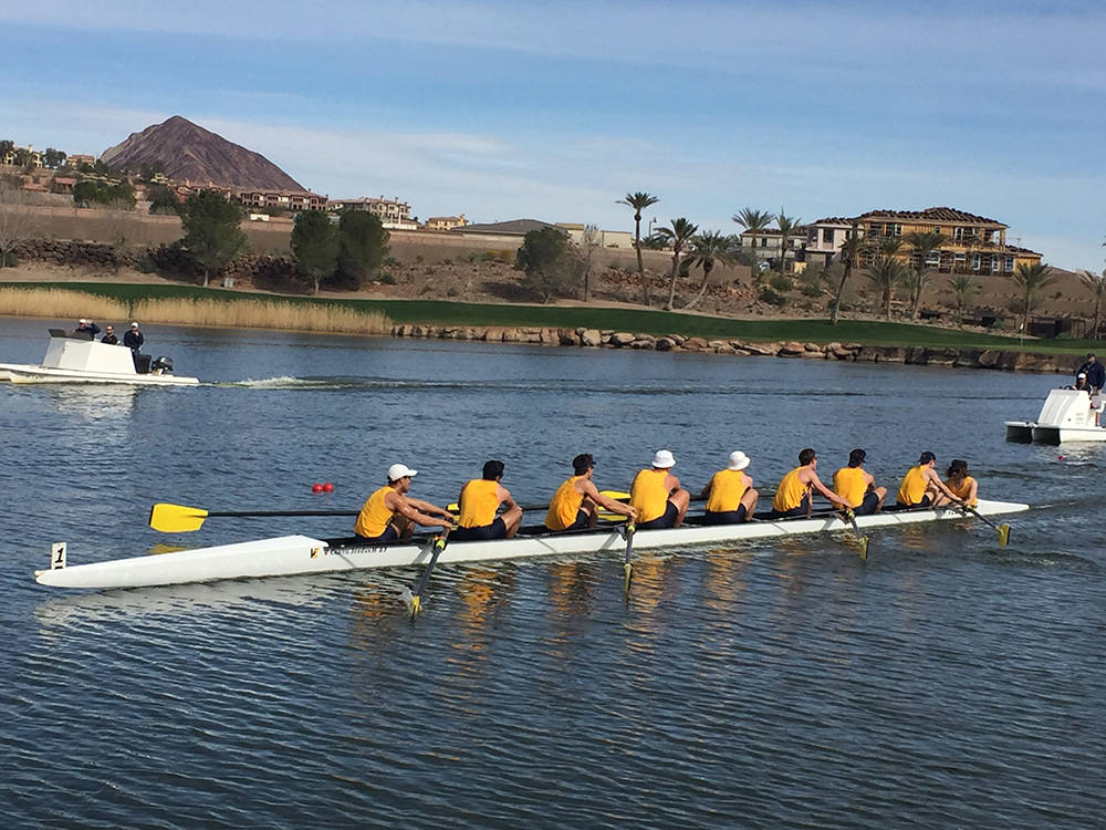 Lake Las Vegas The Rowing Club Took Up Residency At Boat House