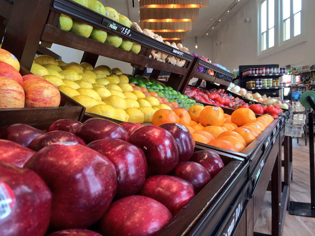 Lake Las Vegas' Season's grocery offers fresh produce. (Lake Las Vegas)