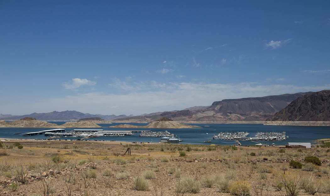 Lake Mead Marina on Thursday, June 1, 2017. Patrick Connolly Las Vegas Review-Journal @PConnPie