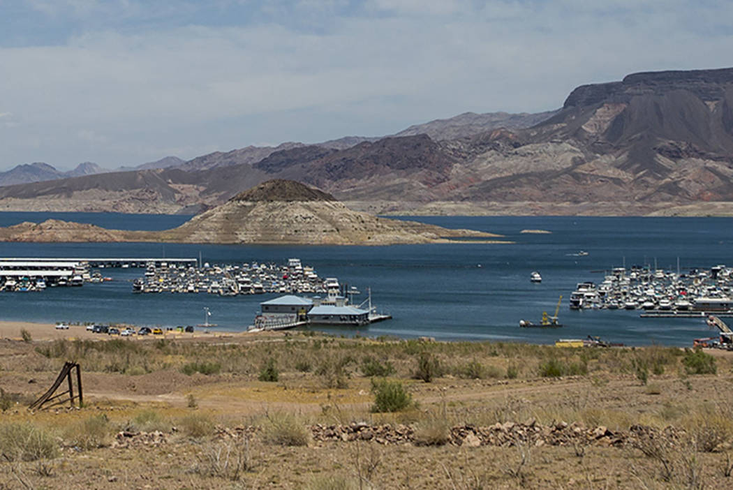 Lake Mead Marina on Thursday, June 1, 2017. (Patrick Connolly Las Vegas Review-Journal @PConnPie)