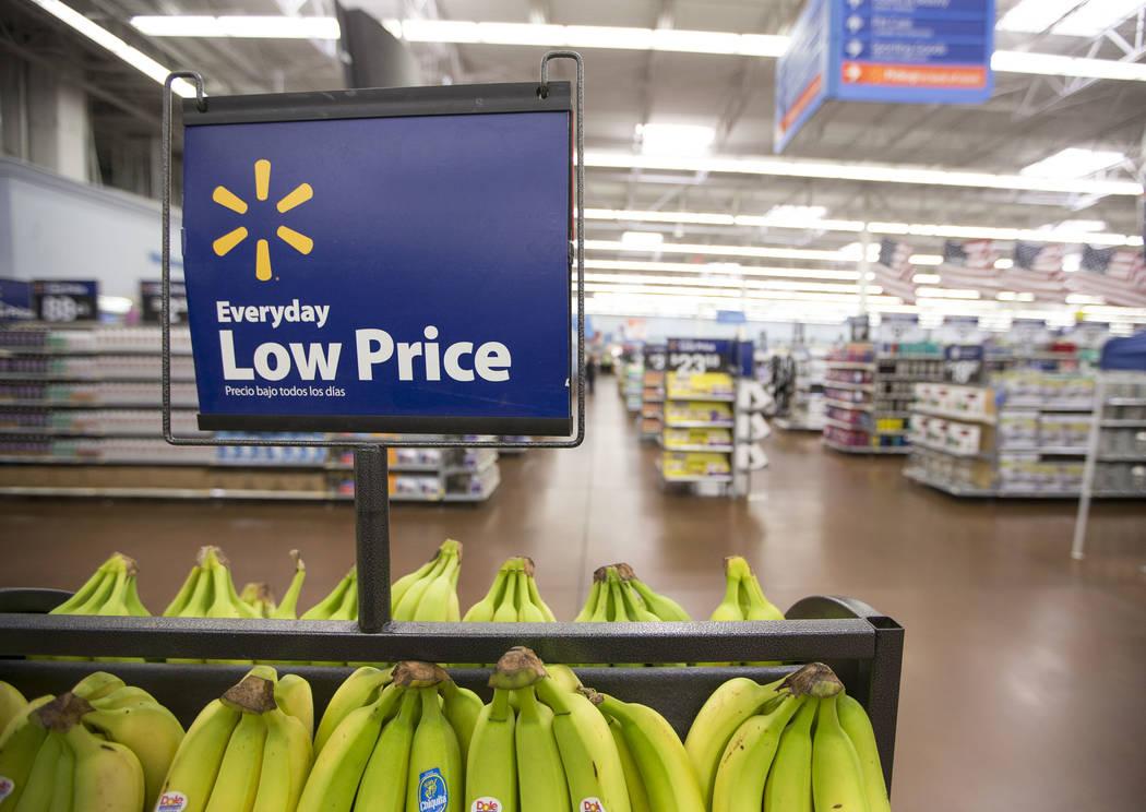 Walmart store in Las Vegas on Tuesday, June 20, 2017. (Richard Brian/Las Vegas Review-Journal) @vegasphotograph