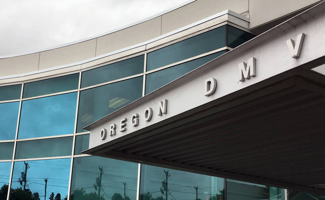 This photo shows the headquarters of Oregon's Driver and Motor Vehicles Division on Thursday, June 15, 2017, in Salem, Ore. (Andrew Selsky/AP)