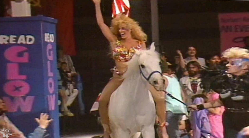 A look back at Vegas wrestling show 'GLOW' before Netflix