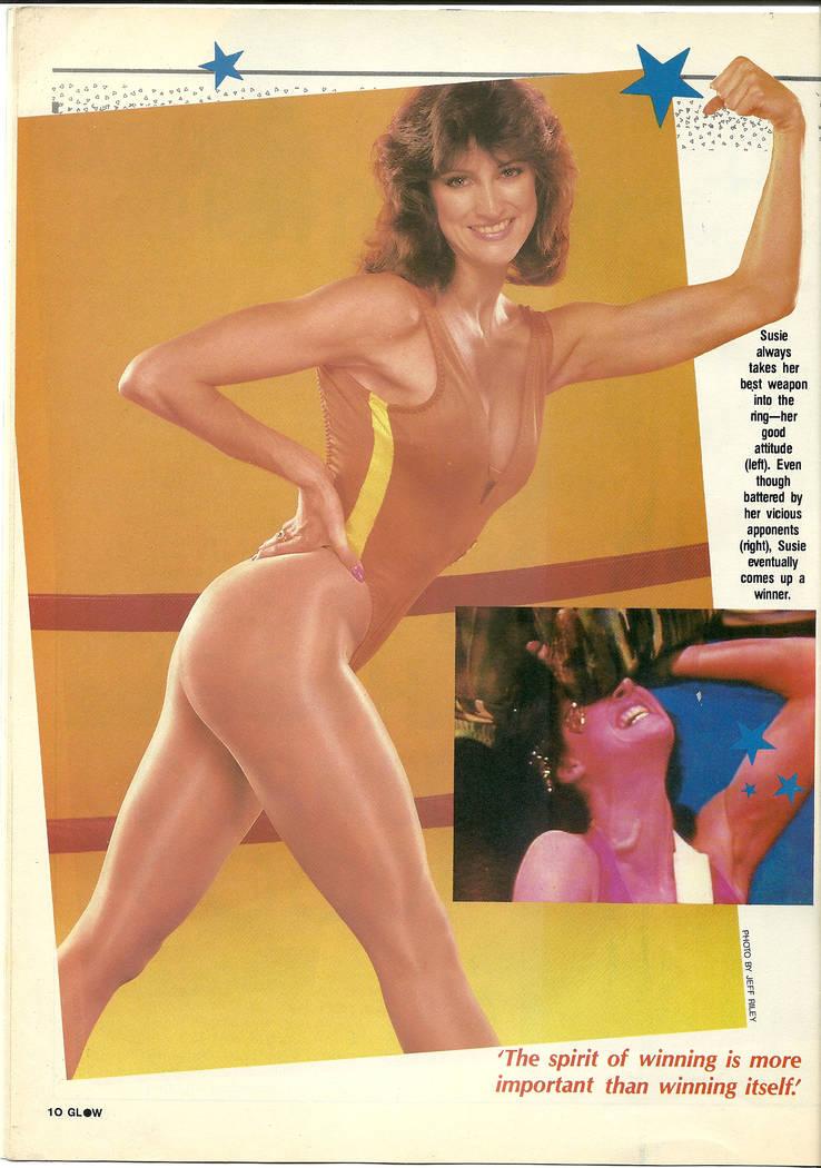 "Lauri S. Thompson wrestled as Susie Spirit on ""GLOW: Gorgeous Ladies of Wrestling."" (gorgeousladiesofwrestling.com)"