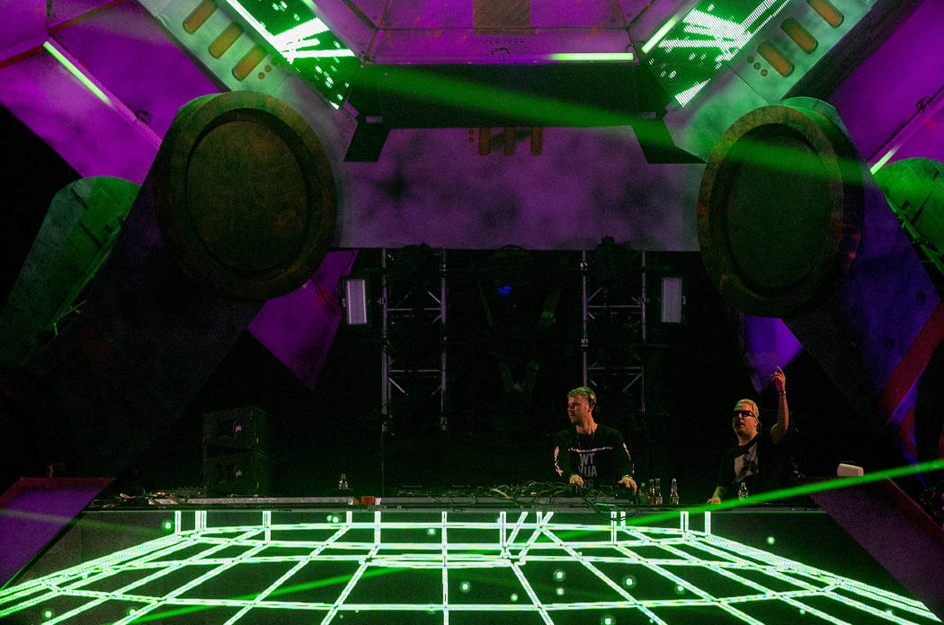 Wilkinson performs a set at Basspod on the second night of Electric Daisy Carnival at Las Vegas Motor Speedway on Saturday, June 17, 2017 in Las Vegas. Bridget Bennett Las Vegas Review-Journal @br ...