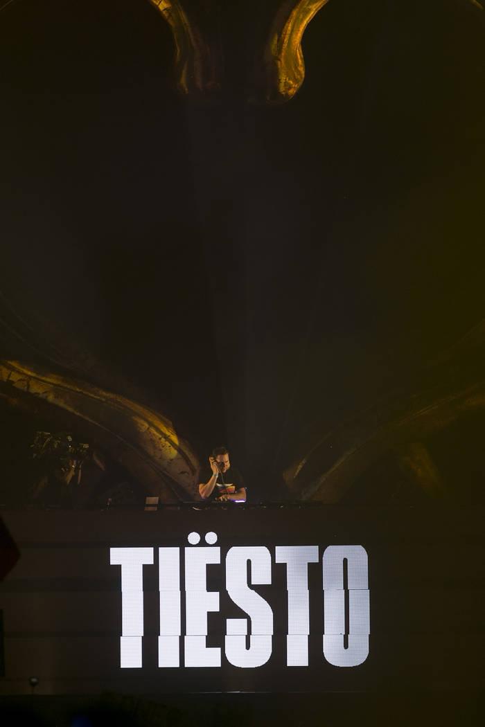 Tiesto performs at Kinetic Field on the second night of Electric Daisy Carnival at Las Vegas Motor Speedway on Sunday, June 18, 2017 in Las Vegas. Bridget Bennett Las Vegas Review-Journal @bridget ...
