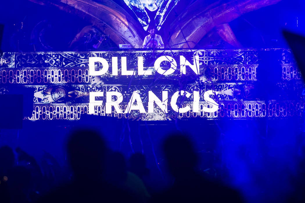 Dillon Francis performs at Kinetic Field on the second night of Electric Daisy Carnival at Las Vegas Motor Speedway on Sunday, June 18, 2017 in Las Vegas. Bridget Bennett Las Vegas Review-Journal  ...