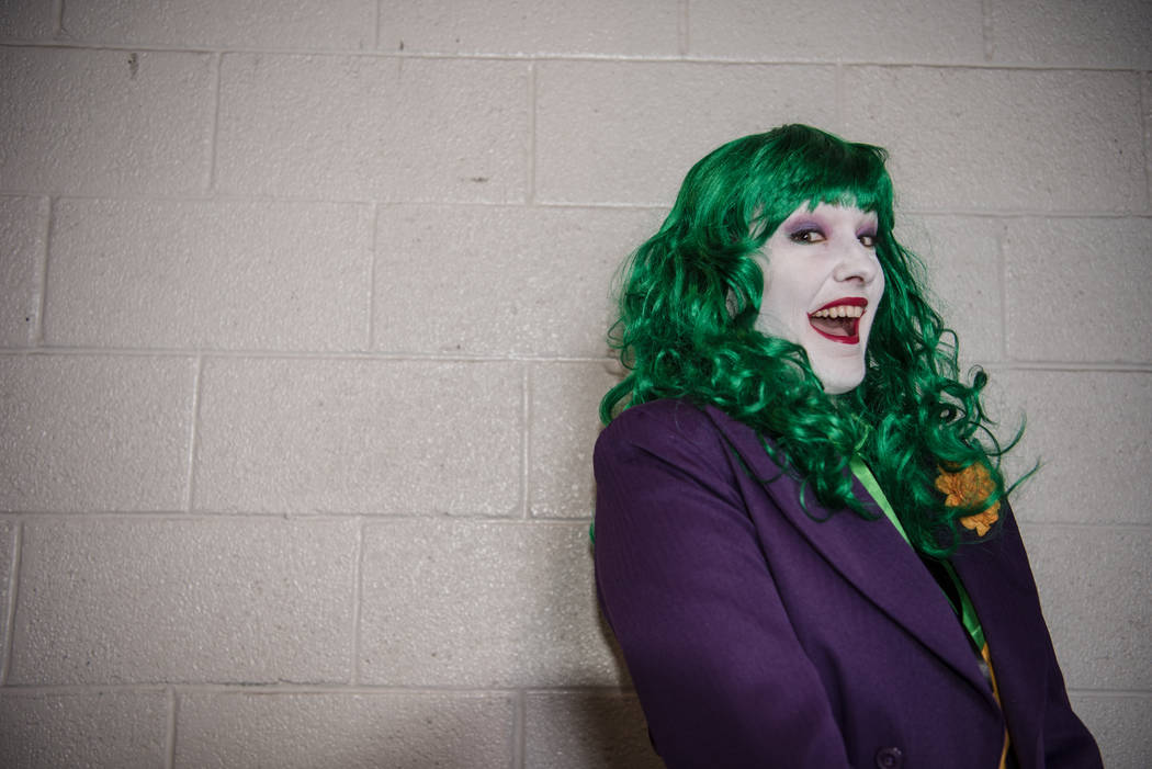 Kim Swingle at Las Vegas Comic Con on Saturday, June 24, 2017, at the Las Vegas Convention Center in Las Vegas. Morgan Lieberman Las Vegas Review-Journal