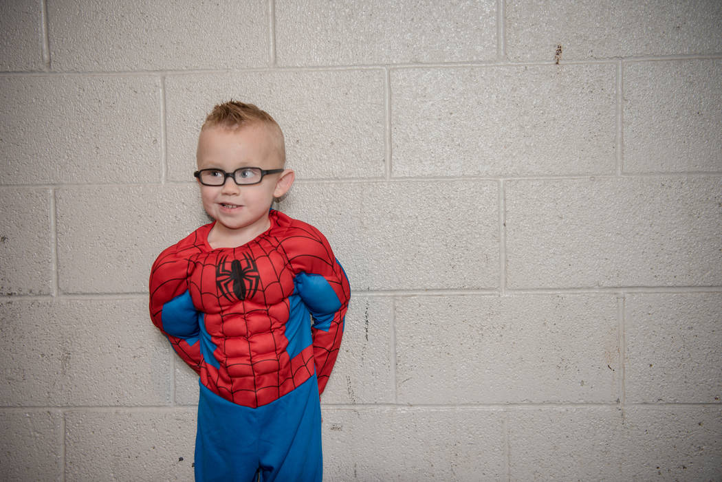 Logan Bailey, 4, at Las Vegas Comic Con on Saturday, June 24, 2017, at the Las Vegas Convention Center in Las Vegas. Morgan Lieberman Las Vegas Review-Journal