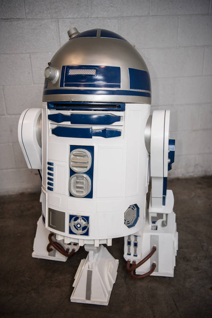 R2D2 at Las Vegas Comic Con on Saturday, June 24, 2017, at the Las Vegas Convention Center in Las Vegas. Morgan Lieberman Las Vegas Review-Journal