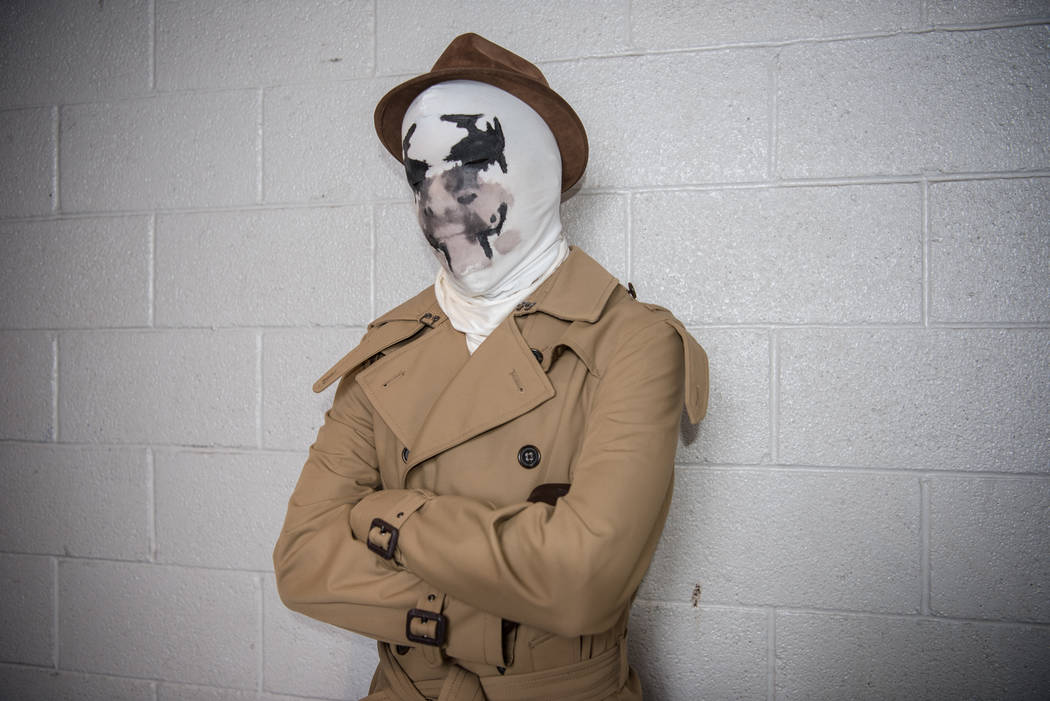 Sergio Martinez Rorschach at Las Vegas Comic Con on Saturday, June 24, 2017, at the Las Vegas Convention Center in Las Vegas. Morgan Lieberman Las Vegas Review-Journal