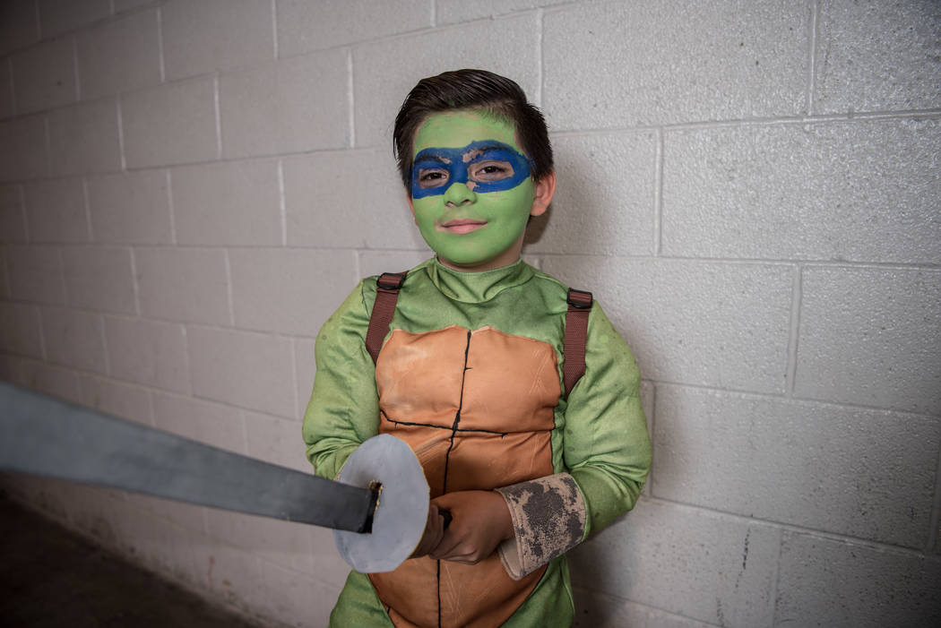 Erik Nunez, 8, at Las Vegas Comic Con on Saturday, June 24, 2017, at the Las Vegas Convention Center in Las Vegas. Morgan Lieberman Las Vegas Review-Journal