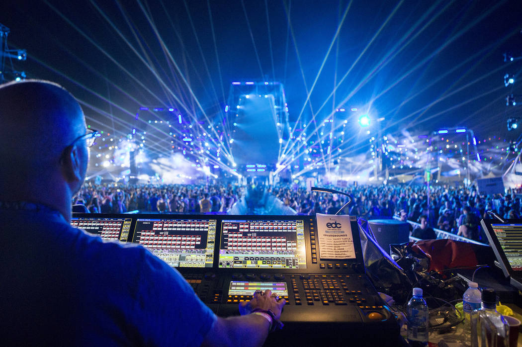 Behind the booth with EDC lighting designer Steve Lieberman | Las ...