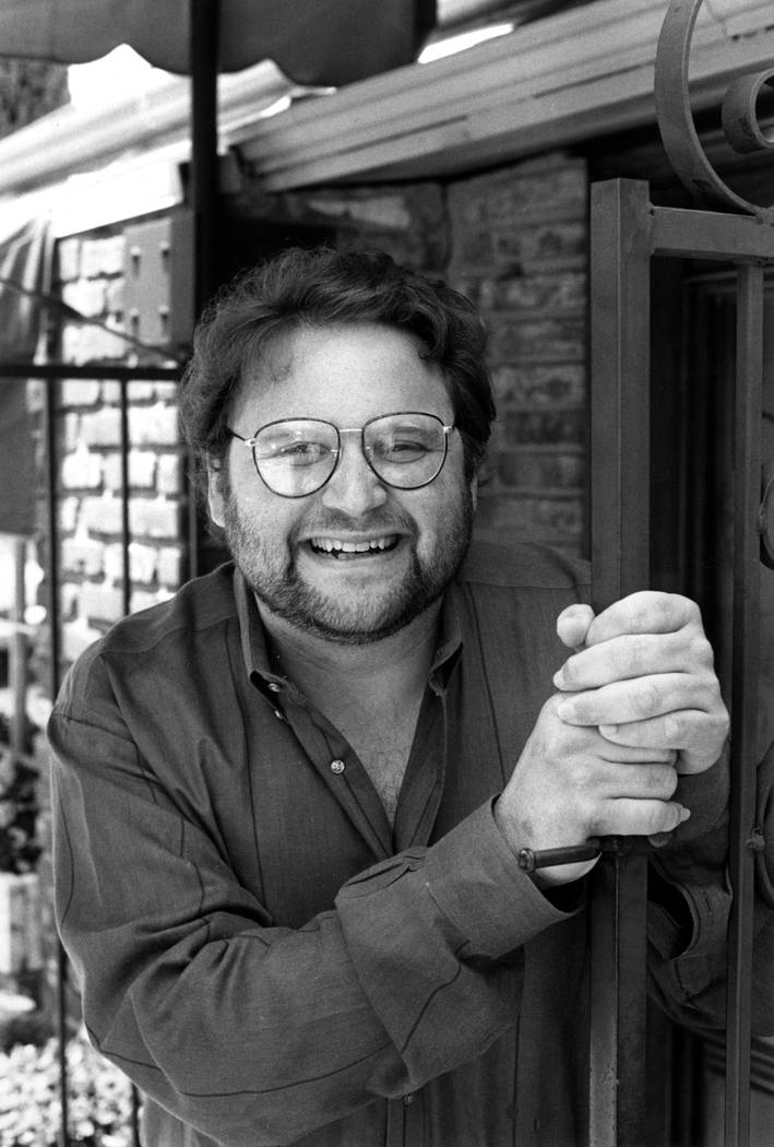 "In this May 1986 file photo, actor Stephen Furst poses for a photo in Los Angeles. Furst's family says the ""Animal House"" actor has died. Furst, who played naive fraternity pledge Flounder in the  ..."