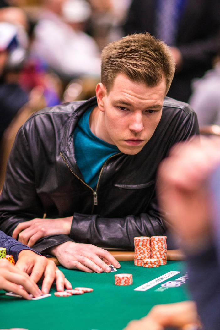 Kane Kalas. Photo by Drew Amato/World Series of Poker