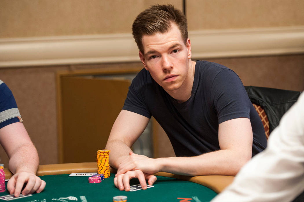 Kane Kalas. Photo by Jayne Furman/World Series of Poker